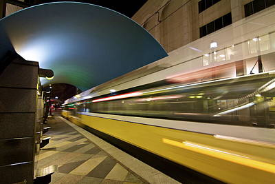 Art Print featuring the photograph City Transit by John Babis