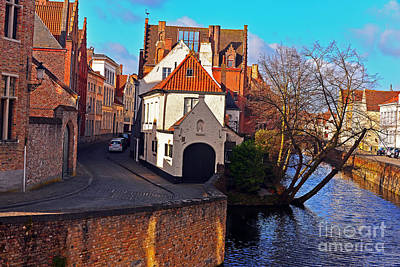 Photograph - Roads Of Bruges by Elvis Vaughn