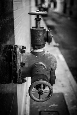 Photograph - City Valves by Melinda Ledsome