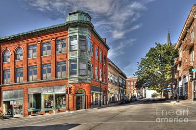 Photograph - City View - St Joseph Missouri by Liane Wright