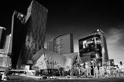 Veer Photograph - citycenter development including the veer towers and cosmopolitan Las Vegas Nevada USA by Joe Fox