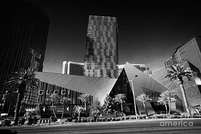 Veer Photograph - citycenter development including the veer towers and the crystals shopping area Las Vegas Nevada USA by Joe Fox