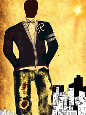 Citydude Art Print by Romaine Head
