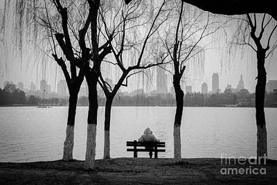 Lakeview Photograph - Cityscape 1 - Breathe by Dean Harte