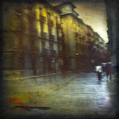 Photograph - Cityscape #14. After Rain by Alfredo Gonzalez