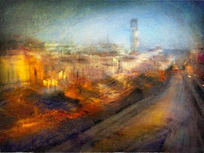 Photograph - Cityscape #17 - Redpolis by Alfredo Gonzalez
