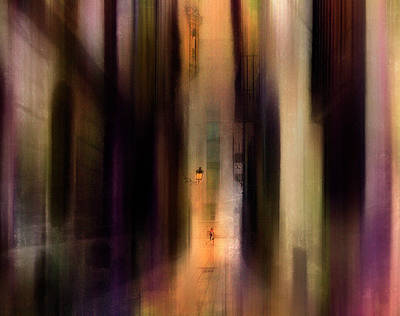Painterly Photograph - Cityscape (2) by Sol Marrades