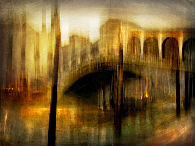 Photograph - Cityscape #22. Venetian Bridge by Alfredo Gonzalez