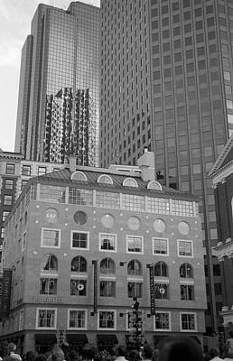 Photograph - Cityscape Boston by John Schneider
