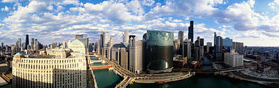 Cityscape Chicago Il Usa Art Print by Panoramic Images