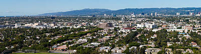 Cityscape, Culver City, Century City Art Print by Panoramic Images