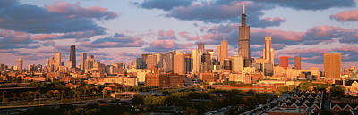 Cityscape, Day, Chicago, Illinois, Usa Art Print by Panoramic Images
