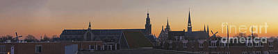 Photograph - Cityscape Gouda At Dusk by Casper Cammeraat