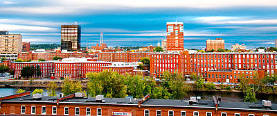 Manchester Mill Photograph - Cityscape by Greg Fortier