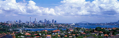 Rooftop Photograph - Cityscape, Harbor, Sydney, Australia by Panoramic Images