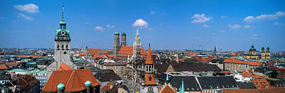 Rooftop Photograph - Cityscape, Munich, Germany by Panoramic Images
