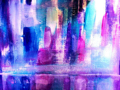 Cityscape Art Print by Nikki Dalton
