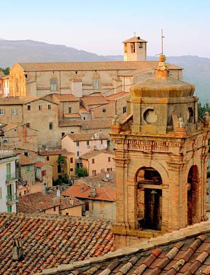 Photograph - Cityscape Perugia by Caroline Stella