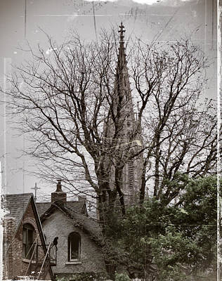 Altered Art Photograph - Cityscape Print by Gothicrow Images