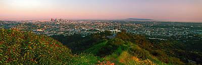 Cityscape, Santa Monica, City Of Los Art Print