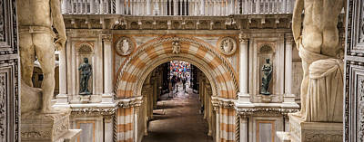 Photograph - Doges Palace Venice Italy by Alex Saunders