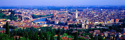 Cityscape, Verona, Italy Art Print by Panoramic Images