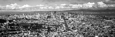 San Francisco Peaks Photograph - Cityscape Viewed From The Twin Peaks by Panoramic Images