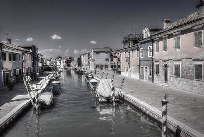 Photograph - Cityscape With Canal by Roberto Pagani
