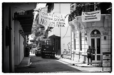 Ciudad Vieja Calle Print by John Rizzuto