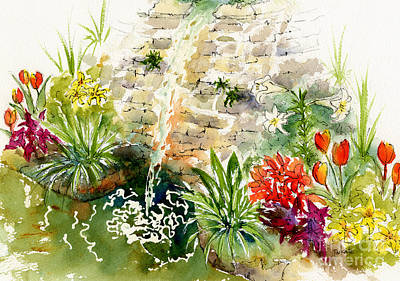 Civic Conservatory Art Print by Pat Katz