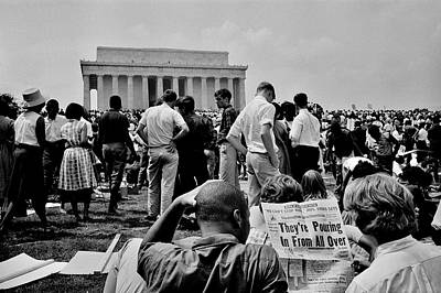 I Have A Dream Wall Art - Photograph - Civil Rights Occupiers by Benjamin Yeager