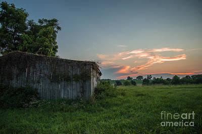 Photograph - Civil War Barn by Chuck Smith