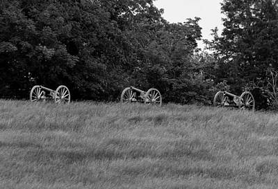 Photograph - Civil War Battle Cannons by David Lester