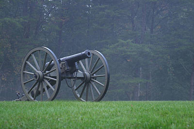 Civil War Cannon 3 Art Print