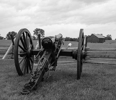 Civil War Cannon 5 Art Print