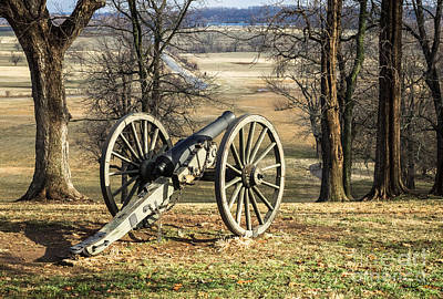 Photograph - Civil War Cannon At The Ready by Imagery by Charly