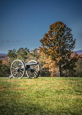 Photograph - Civil War Cannon by Bradley Clay