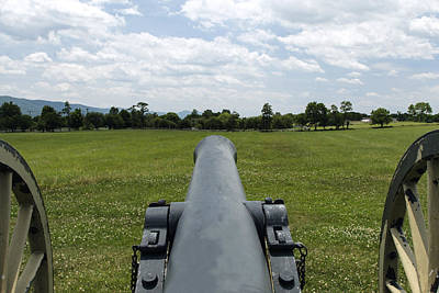 Civil War Cannon  Art Print by David Lester