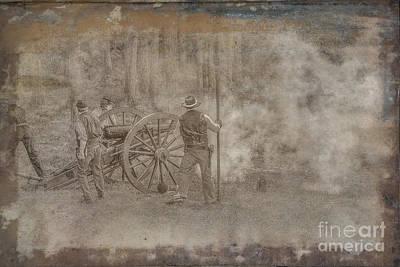 Beer Blueprints - Civil War Cannon Firing by Randy Steele