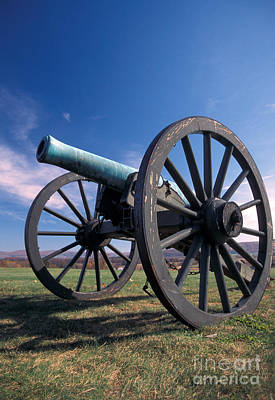 Photograph - Civil War Cannon by Mark Newman