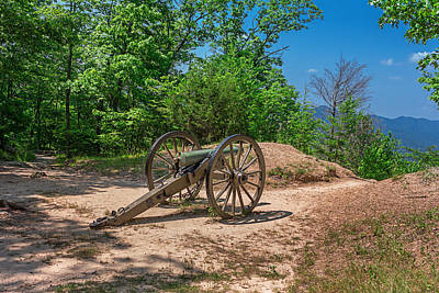 Photograph - Civil War Cannon by Mary Almond