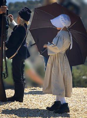 Photograph - Civil War Children by Tamyra Crossley