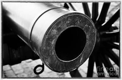 Photograph - Civil War Era Cannon by Danny Hooks