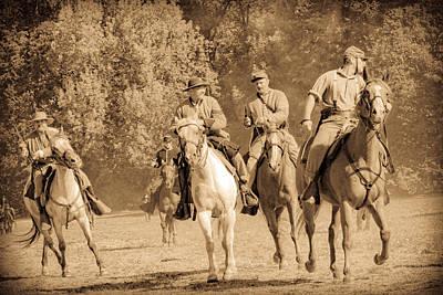 Photograph - Civil War Fight by Steve McKinzie