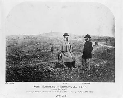 Clearing Painting - Civil War Fort Sanders by Granger