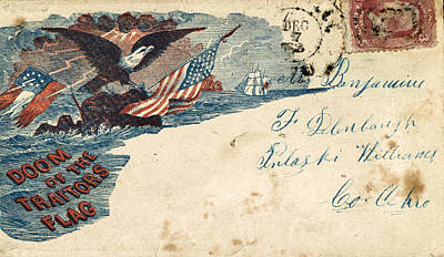 Photograph - Civil War Letter 9 by Andrew Fare