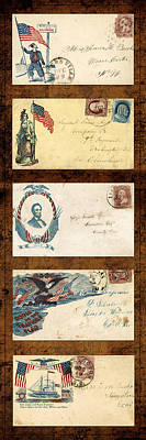 Photograph - Civil War Letters 2 by Andrew Fare