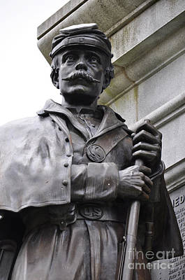 Photograph - Civil War Memorial by Staci Bigelow