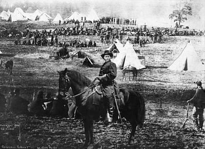 Photograph - Civil War Photomontage by Granger