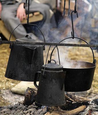Photograph - Civil War Pots by David Lester